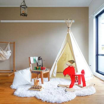 【家具イメージ】子供部屋が無垢床仕様なんて憧れます!