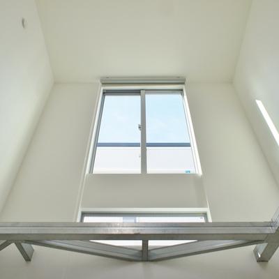 高い天井。 ※写真は前回募集時のものです