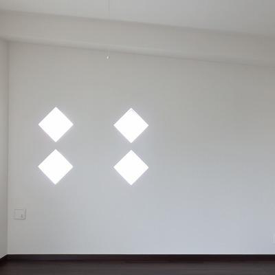 2階】ひし形の飾り窓がいいね。 ※写真は前回募集時のもの