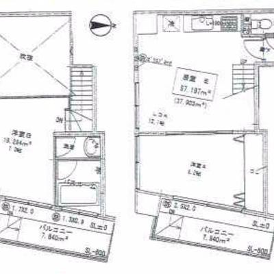 最上階10階の、メゾネットタイプのお部屋です!