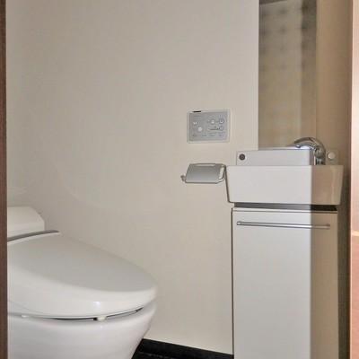 トイレは1階部分。 ※写真は前回募集時のもの