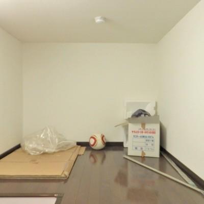 秘密の部屋?いいえ、収納スペースです。 ※写真は前回募集時のもの