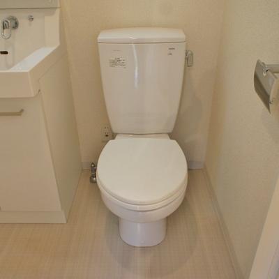 トイレは同じ空間に