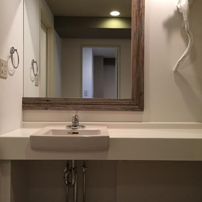 洗面が可愛いのは毎日の支度にかかわるポイント!