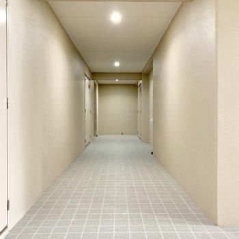 共用廊下がとってもキレイ♬