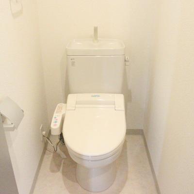 トイレも洗練されたデザインに。※写真は前回募集時のものです