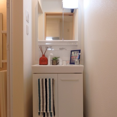 独立洗面台もあり(1階)