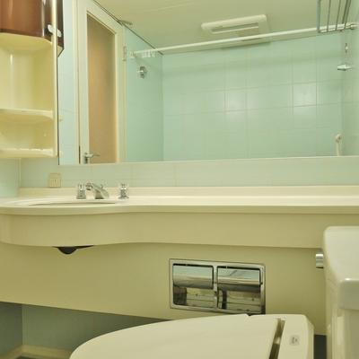 洗面も同室。ホテルライクな水廻りでした。※写真は前回撮影時のもの