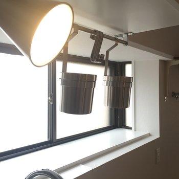出窓には炊飯器等が置けちゃいそう!