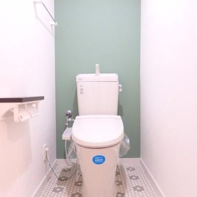 トイレがまた可愛らしい♪※写真は前回募集時のもの