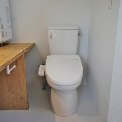 トイレはここに