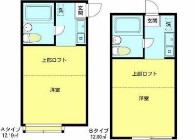 アパートメント大倉№6 の間取り