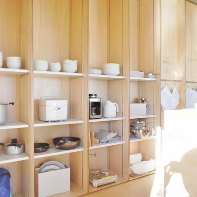 こんな風にディスプレイ※こちらはシェアキッチンのお部屋です