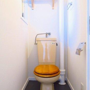 木製便座でトイレもオシャレに。(※写真は前回募集時のものです)