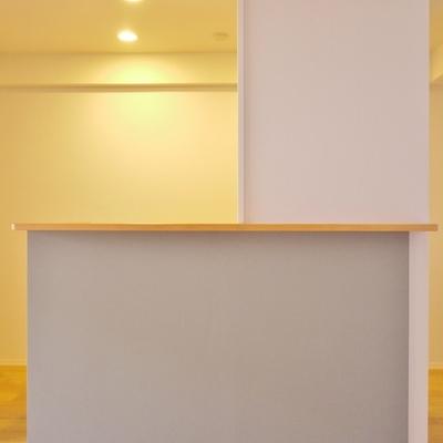 キッチンは、アイランドって、ちょっと贅沢?。。※写真は前回撮影時のもの