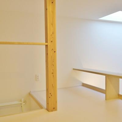ウッドの温かみがあるロフトスペース。※写真は前回掲載時のもの