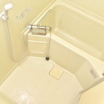 バスルームは至ってシンプル。定番の使いやすさ!
