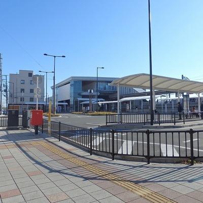 最寄りの長尾駅。きれい!