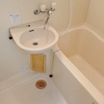 お風呂は2点ユニットなのです。
