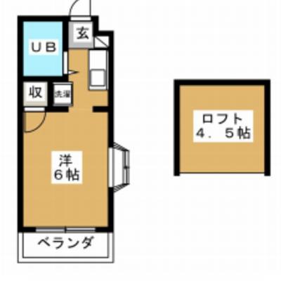 2階の角部屋!