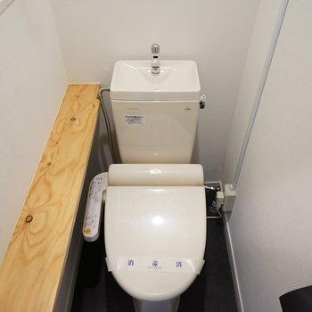 トイレにはウォシュレット付き!