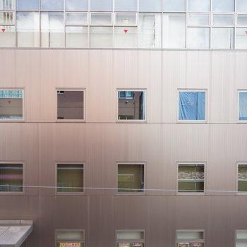 眺望はこちら、オフィス街なので。。