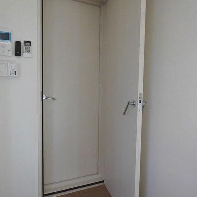 2重ドア!!