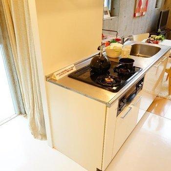 【LD】こちら側に冷蔵庫を置けます。※写真は416号室