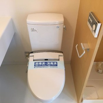 ウォシュレットのトイレ。※写真は前回募集時のものです