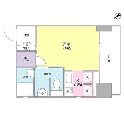 ウィスタリアマンション西新宿 の間取り