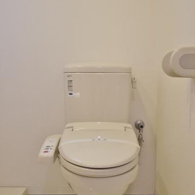 横はおトイレのアメサパタイプ。※写真は、前回撮影時のもの