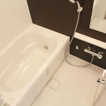 大きいお風呂!※写真は10階の同間取り別部屋のものです