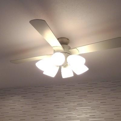 シーリングファンライト※別部屋の写真です