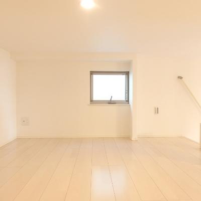 4.8帖のロフト。天井は低いですが広いです※別部屋の写真です