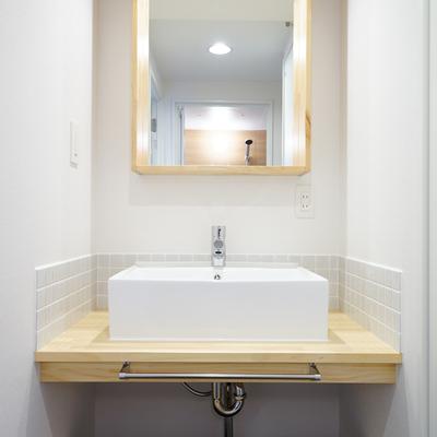 ※リノベイメージ。独立洗面台も入替えもできます!