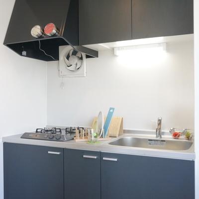 キッチンはこのマットな感じがおしゃれ!