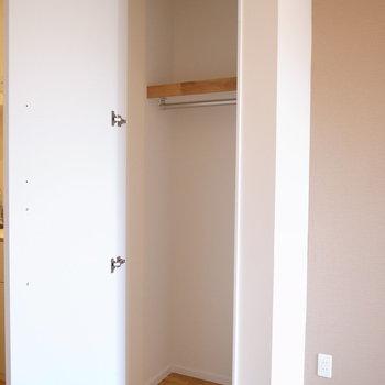 収納スペースは小さいですが、、、