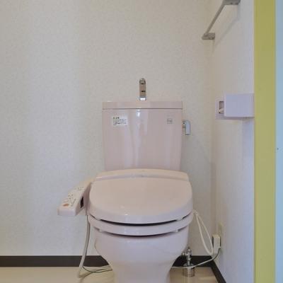 まずウォシュレット付きのおトイレ。※写真は前回募集時のもの