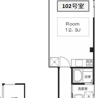 101号室が隣接してます