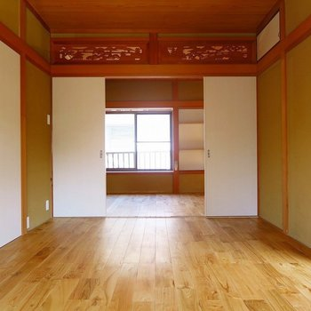 【2階】開放的な広々空間!