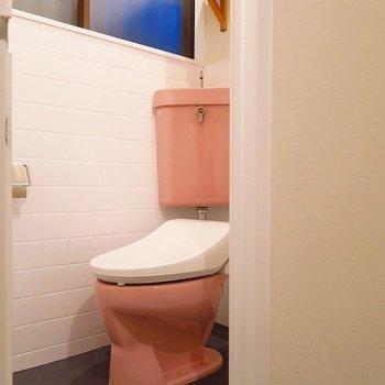 【1階】トイレもウォシュレットが付きました〜!