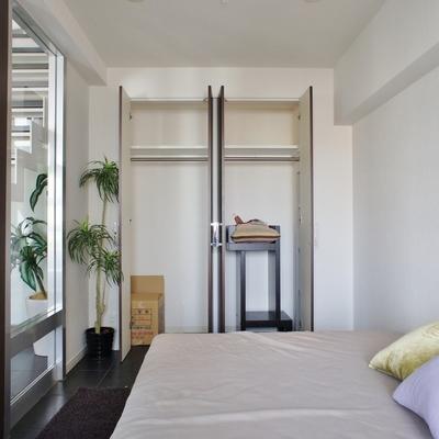 こんな感じ。結構入りそう※モデルルームになります、家具等はサンプルです