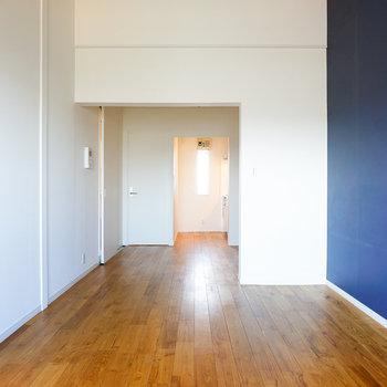 ブルーが効いたお部屋です♪※写真は前回募集時のものです