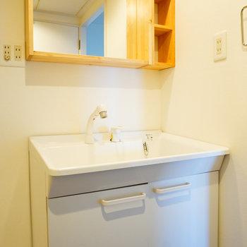 洗面台もゆったり!※写真は前回募集時のものです