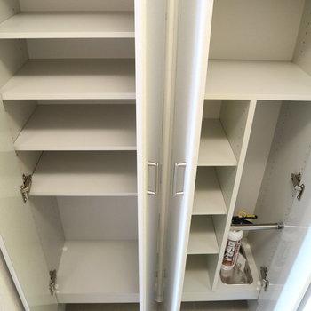 靴以外にも入れられますね。※写真は8階同間取り別部屋のものです
