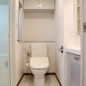 脱衣所も確保※写真は8階同間取り別部屋のものです