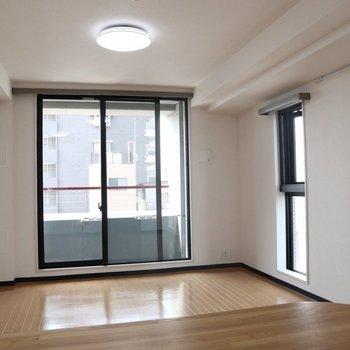 テレビを見ながらなんてことも!※写真は8階同間取り別部屋のものです