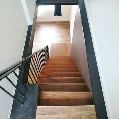 お部屋の中の階段。※写真は前回掲載時のものです。