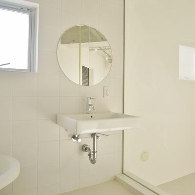 洗面台はお風呂のスペースに!※写真は前回掲載時のものです。