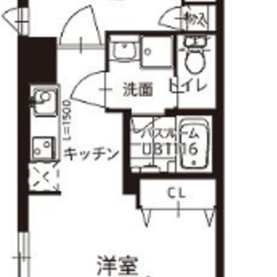 玄関入って、居室・キッチン・居室の並び!これは珍しい!